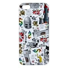 Medieval Mash Up Iphone 5s Premium Hardshell Case