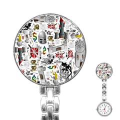Medieval Mash Up Stainless Steel Nurses Watch