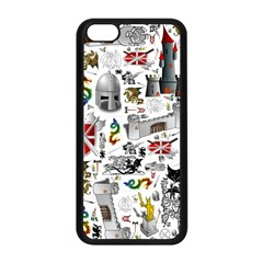 Medieval Mash Up Apple iPhone 5C Seamless Case (Black)
