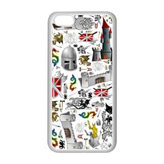 Medieval Mash Up Apple iPhone 5C Seamless Case (White)