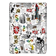 Medieval Mash Up Apple Ipad Air Hardshell Case