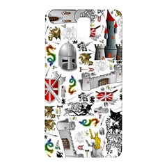 Medieval Mash Up Samsung Galaxy Note 3 N9005 Hardshell Back Case