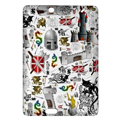 Medieval Mash Up Kindle Fire HD 7  (2nd Gen) Hardshell Case