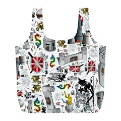 Medieval Mash Up Reusable Bag (L)