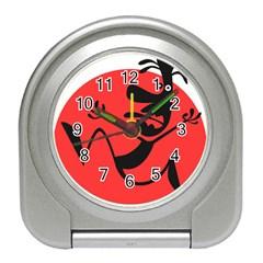 Running Man Desk Alarm Clock