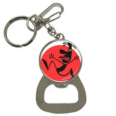 Running Man Bottle Opener Key Chain