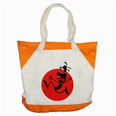 Running Man Accent Tote Bag