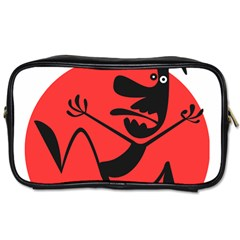Running Man Travel Toiletry Bag (one Side)