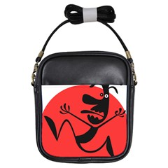 Running Man Girl s Sling Bag