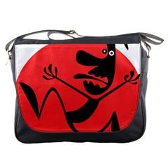 Running Man Messenger Bag