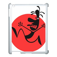 Running Man Apple Ipad 3/4 Case (white)