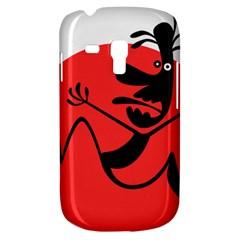 Running Man Samsung Galaxy S3 MINI I8190 Hardshell Case