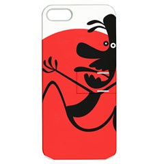 Running Man Apple iPhone 5 Hardshell Case with Stand