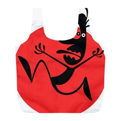 Running Man Reusable Bag (l)