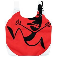 Running Man Reusable Bag (xl)