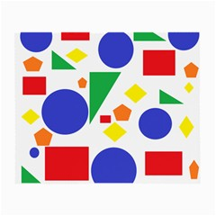 Random Geometrics Glasses Cloth (small)