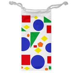 Random Geometrics Jewelry Bag