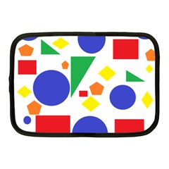 Random Geometrics Netbook Sleeve (medium)