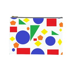Random Geometrics Cosmetic Bag (Large)