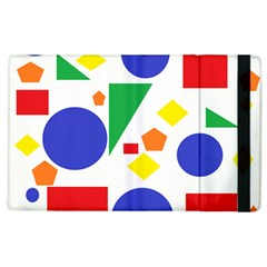 Random Geometrics Apple iPad 3/4 Flip Case