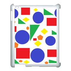 Random Geometrics Apple Ipad 3/4 Case (white)