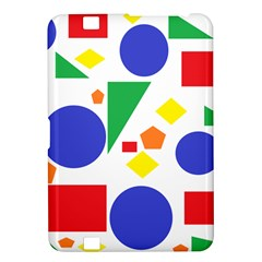 Random Geometrics Kindle Fire Hd 8 9  Hardshell Case