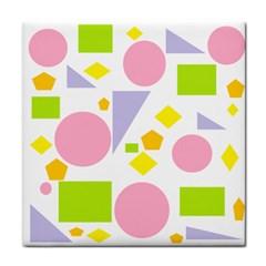 Spring Geometrics Ceramic Tile