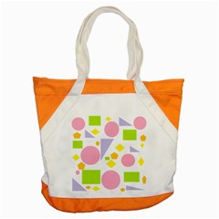 Spring Geometrics Accent Tote Bag