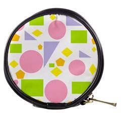 Spring Geometrics Mini Makeup Case