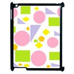 Spring Geometrics Apple iPad 2 Case (Black)
