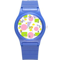 Spring Geometrics Plastic Sport Watch (Small)
