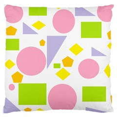 Spring Geometrics Large Cushion Case (single Sided)