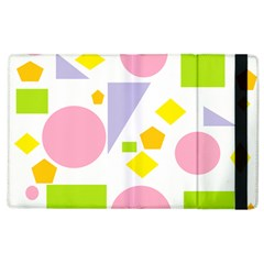 Spring Geometrics Apple iPad 3/4 Flip Case