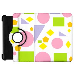 Spring Geometrics Kindle Fire HD 7  (1st Gen) Flip 360 Case