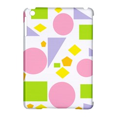 Spring Geometrics Apple Ipad Mini Hardshell Case (compatible With Smart Cover)
