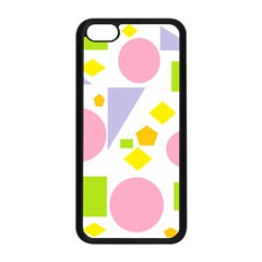 Spring Geometrics Apple iPhone 5C Seamless Case (Black)
