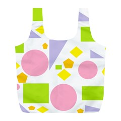 Spring Geometrics Reusable Bag (L)