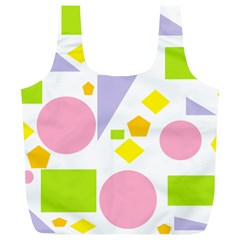 Spring Geometrics Reusable Bag (XL)
