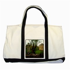 Toulongergues Two Toned Tote Bag
