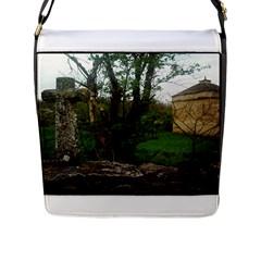 Toulongergues Flap Closure Messenger Bag (large)