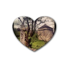 Toulongergues2 Drink Coasters 4 Pack (Heart)