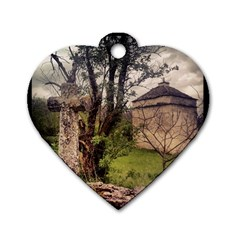Toulongergues2 Dog Tag Heart (Two Sided)