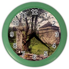 Toulongergues2 Wall Clock (Color)