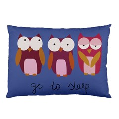 Go to sleep Pillow Case (Two Sides)