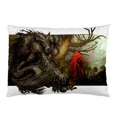 Red Hood Pillow Case (two Sides)