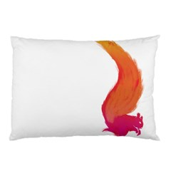 Fiery Squirrel Pillow Case (Two Sides)