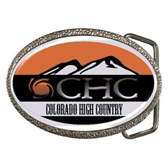 CHC Logo Belt Buckle (Oval)