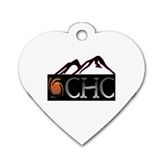 CHC Logo Dog Tag Heart (One Sided)