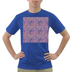 Purple Paisley Men s T-shirt (Colored)