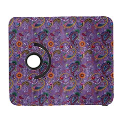 Purple Paisley Samsung Galaxy S  III Flip 360 Case